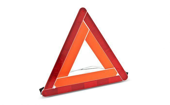 Знак аварийной остановки нового образца 2018 - 2019 требования по ГОСТ