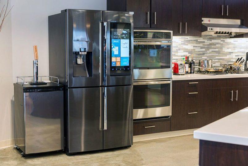 Двухдверный холодильник с морозильной камерой цена, лучшие модели, фото, отзывы