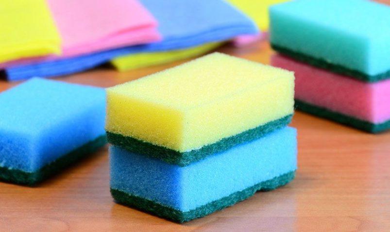 Губка для мытья посуды силиконовая, металлическая, поролоновая, абразивная